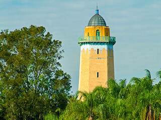 Coral Gables historic Water Tower